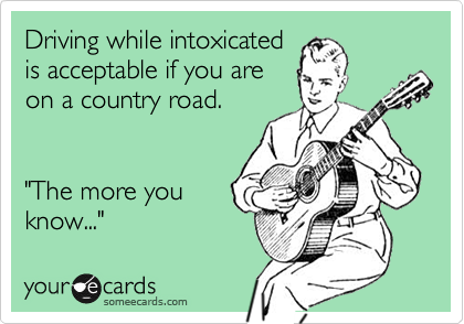 Driving while intoxicated