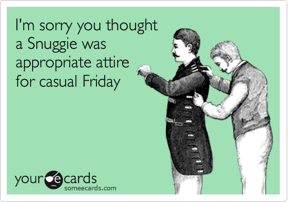 I'm sorry you thought