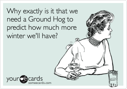 Why exactly is it that we