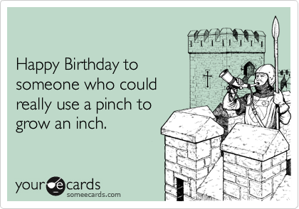 Happy Birthday to