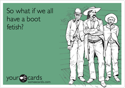 So what if we all