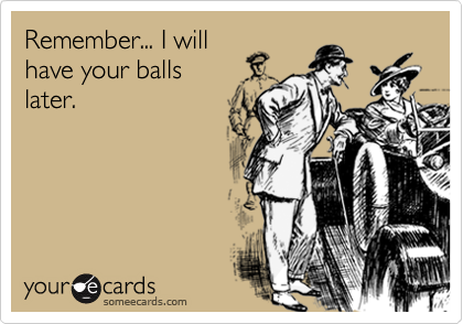 Remember... I will
