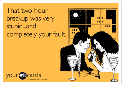 That two hour