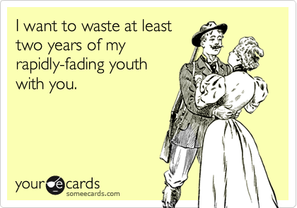 I want to waste at least