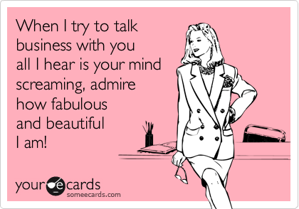 When I try to talk 