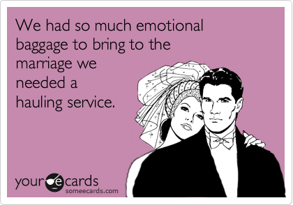 We had so much emotional