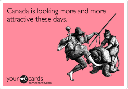 Canada is looking more and more