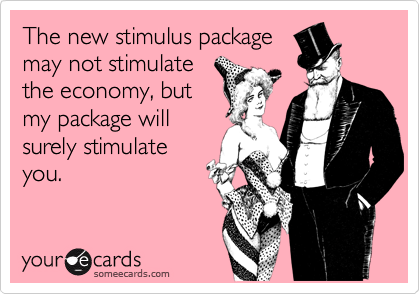The new stimulus package