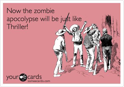 Now the zombie