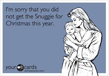 I'm sorry that you did