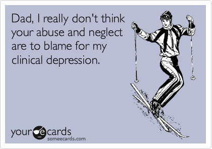 Dad, I really don't think
