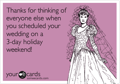 Thanks for thinking of