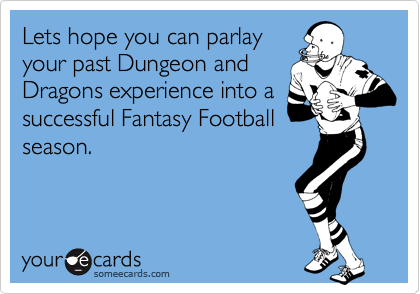 Lets hope you can parlay