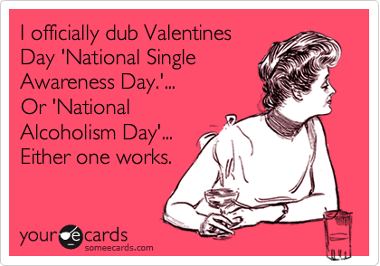 Valentines ecards for singles