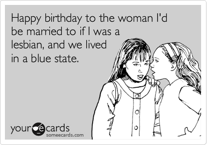 Lesbian birthday e cards — photo 8
