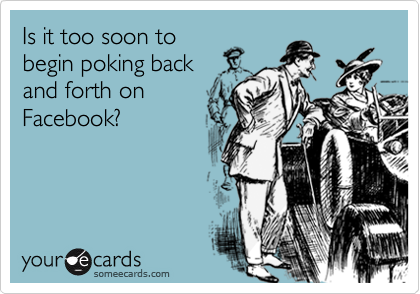 Is it too soon to