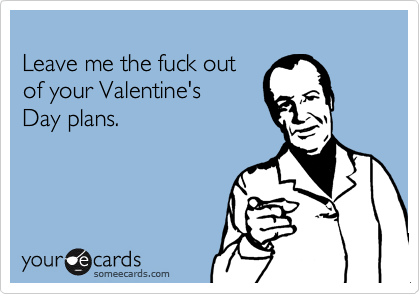 Leave me the fuck out 