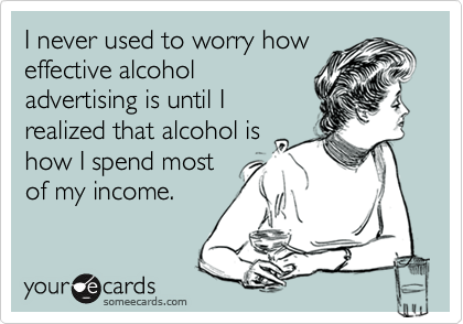 I never used to worry how