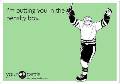 I'm putting you in the