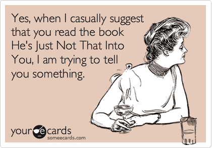 Yes, when I casually suggest
