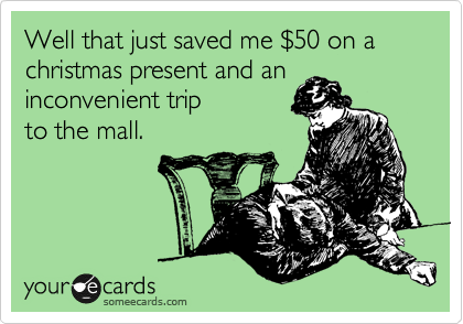 Well that just saved me %2450 on a christmas present and an inconvenient trip to the mall.