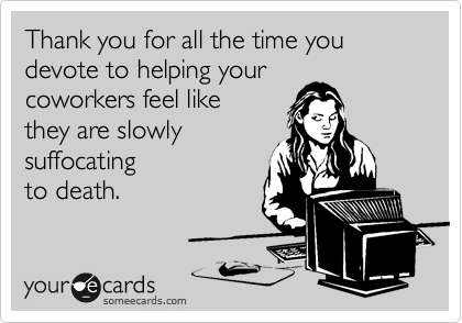 Thank you for all the time you 