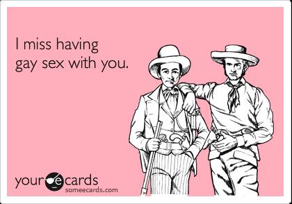 Gay sex ecards