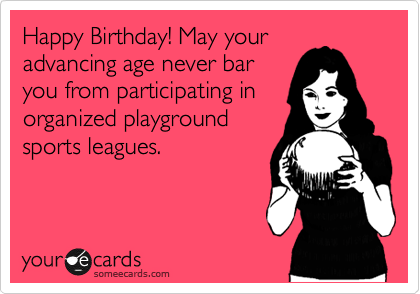 Happy Birthday! May your
