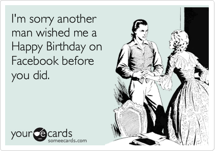 I'm sorry another