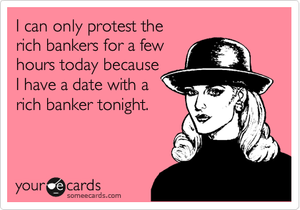 I can only protest the