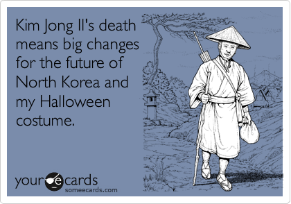 Kim Jong Il's death