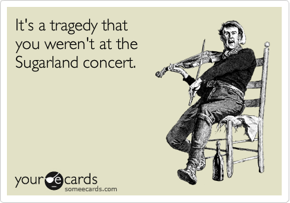 It's a tragedy that