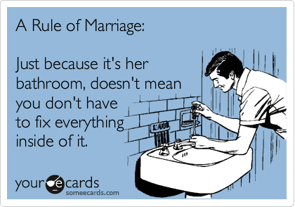 A Rule of Marriage: