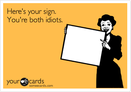 Here's your sign.