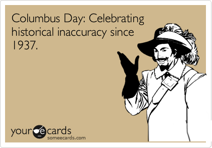 Columbus Day: Celebrating