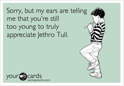 Sorry, but my ears are telling