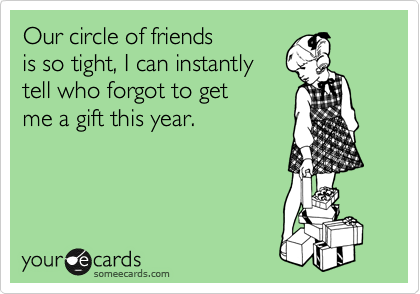 Our circle of friends