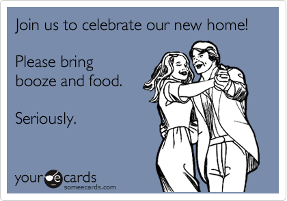 Todays News Entertainment Video Ecards and more at Someecards – Funny Housewarming Party Invitations