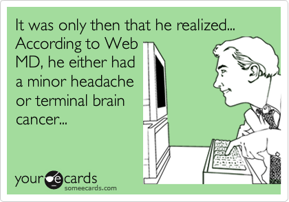 It was only then that he realized...