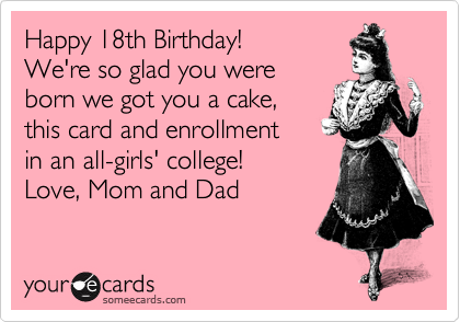 Happy 18th Birthday!