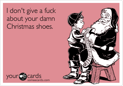 I don't give a fuck