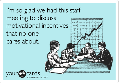 I'm so glad we had this staff 