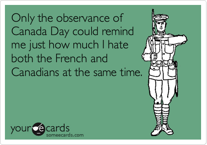 Only the observance of