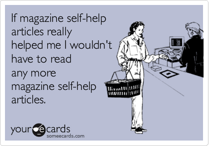 If magazine self-help