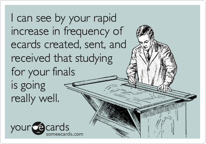I can see by your rapid