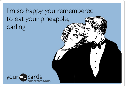 I'm so happy you remembered