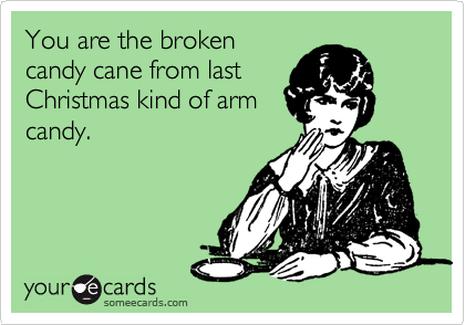 You are the broken