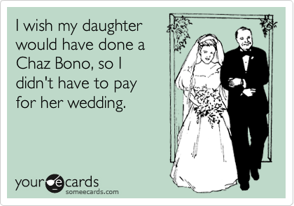 I wish my daughter