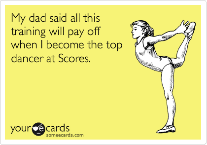 My dad said all this