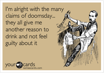 I'm alright with the many
